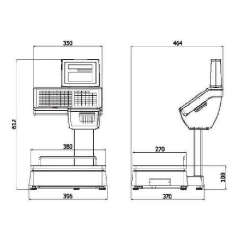 CAS CL5000-D схема