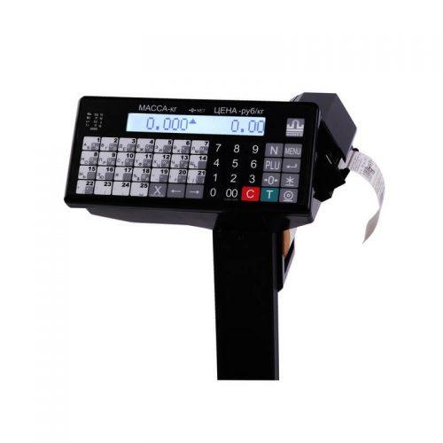 Весы с печатью этикеток ВПМ-Ф индикатор
