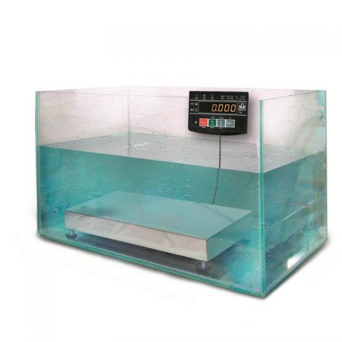 Весы МК-АВ20 в аквариуме