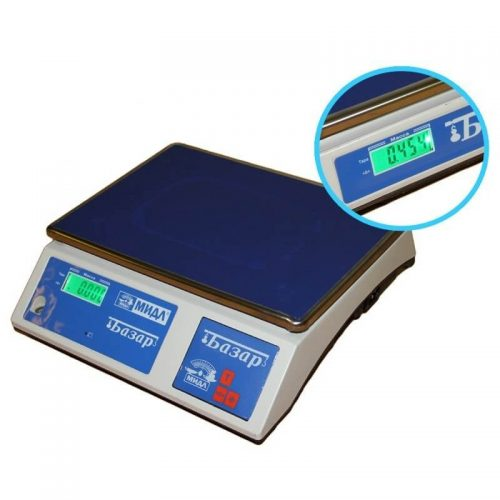 Весы МТ 6 В1ДА Базар 2 индикатор