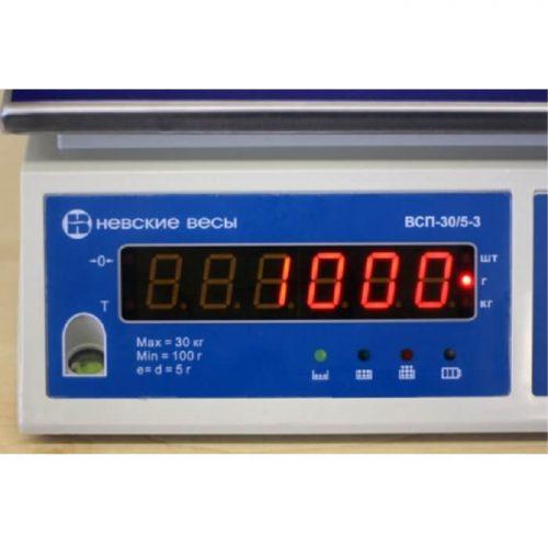 Весы ВСП-3К индикатор