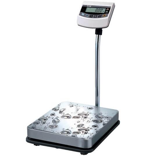 Весы товарные влагозащищённые BW CAS