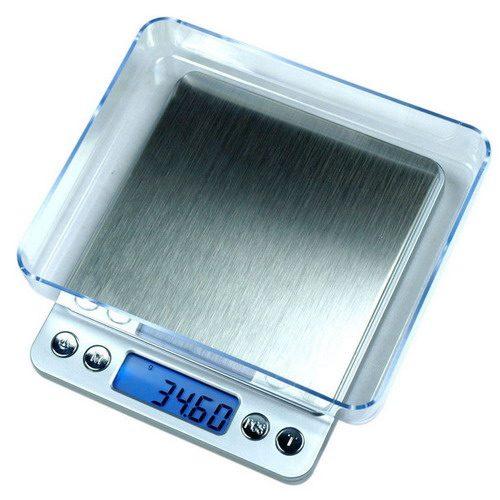 Весы карманные TopScale-500 вид сверху