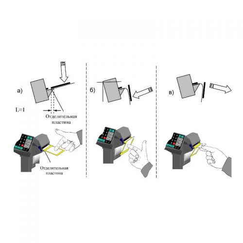 Весы с печатью этикеток ВПМ-Ф отделение этикетки