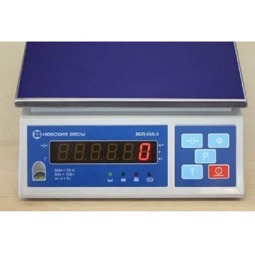Весы ВСП-3К панель